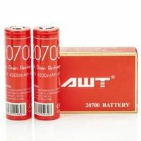 Аккумуляторные батареи 20700  AWT 4200 Mah (оригин